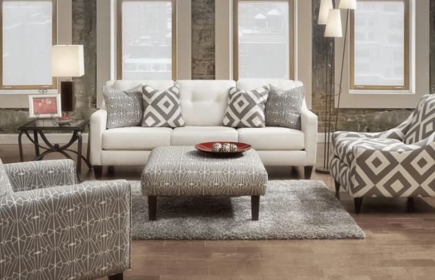 Fusion 3280b Sugar Shack Glacier Sofa Amp Love Seat Shop