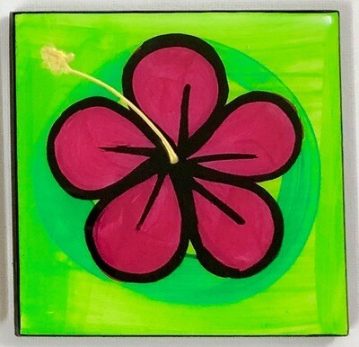Hibiscus Coaster