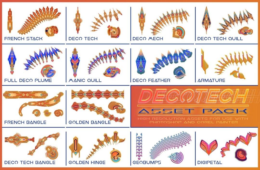 Decotech- 2D Asset Pack