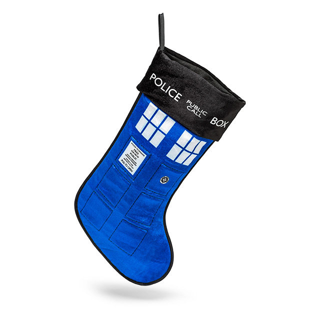Doctor Who Christmas Stocking w/ Sound
