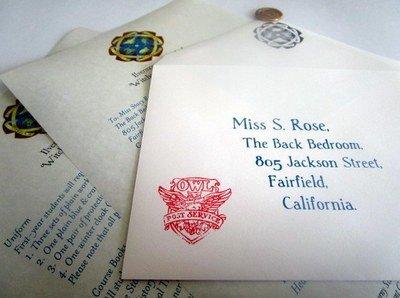 Wizarding Acceptance Letter (American School)