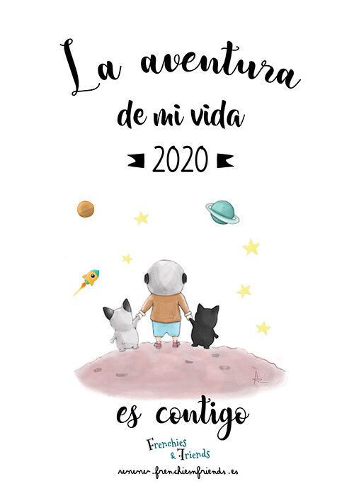 Calendario Frenchies & Friends 2020