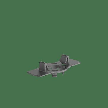 Eurotec Adjustable Decking Pedestal  -BASE 32mm Clip Adaptor (10 Pack)