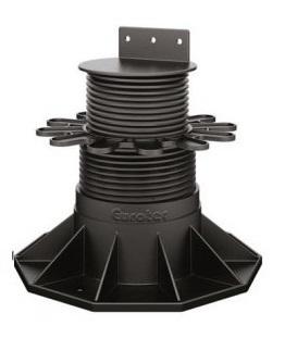 Eurotec Adjustable Decking Pedestal Feet - Eco L Adjusts from 65mm up to 130mm