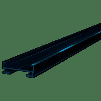 Aluminium Joists for Decking & Porcelain 60mm x 20mm x 2400mm  (1 Length)