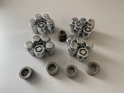 McGard Locking Wheel Bolt Set, Used
