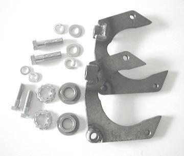 Mustang II Caliper Bracket Kit, for Camaro rotors