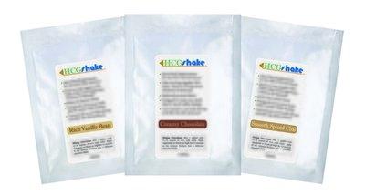 HCG Shake Sample Three Pack