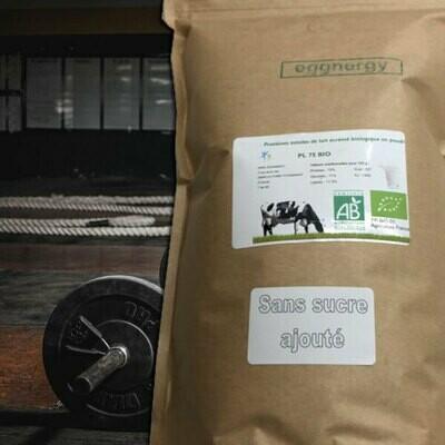Protéine Lait Native bio sans lactose (Toute la gamme) - 1 Kg