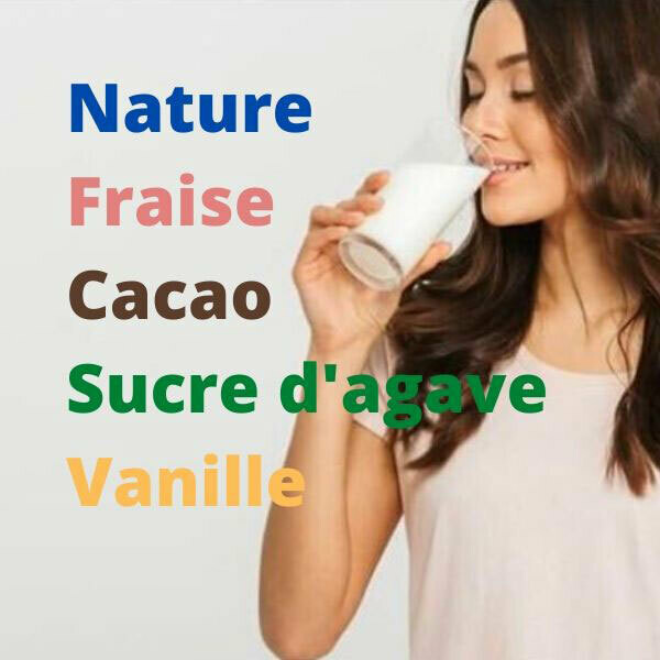 Protéine Lait Native Bio France (Nature ou avec arôme bio) - 1 Kg