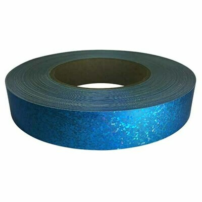 Holographic Sequin Tape, Sky Blue