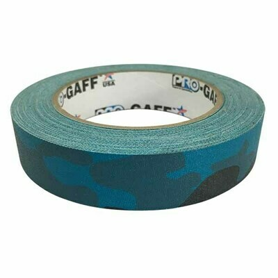 Camouflage Gaffer Tape, Aqua