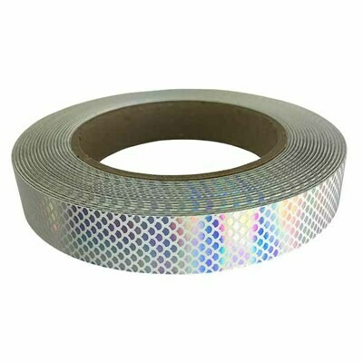 Silver Rainbow Serpent Scales Tape