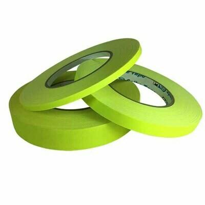 Matte Gaffer Tape, Fluorescent Yellow (Pro-Gaff)