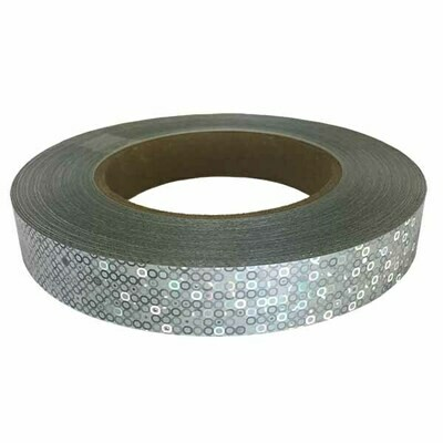 Silver Bubbles Holographic Tape