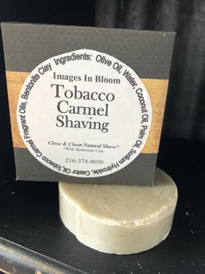 Tobacco Carmel Shaving Soap
