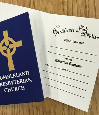 CERTIFICATE OF BAPTISM /CPC-RESOURCES