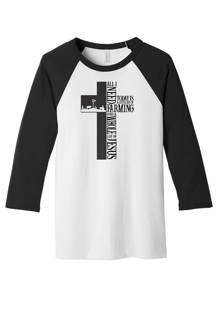 BELLA+CANVAS Unisex 3/4-Sleeve Baseball Tee  REGULAR PRICE  $24.00