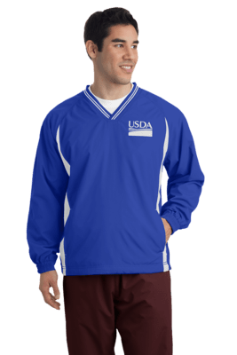 Tall V-Neck Raglan Wind Shirt