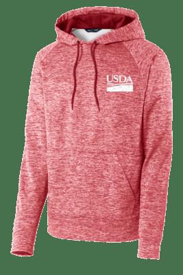 Unisex Electric Heather Fleece Hoodie  REGULAR PRICE $53.00