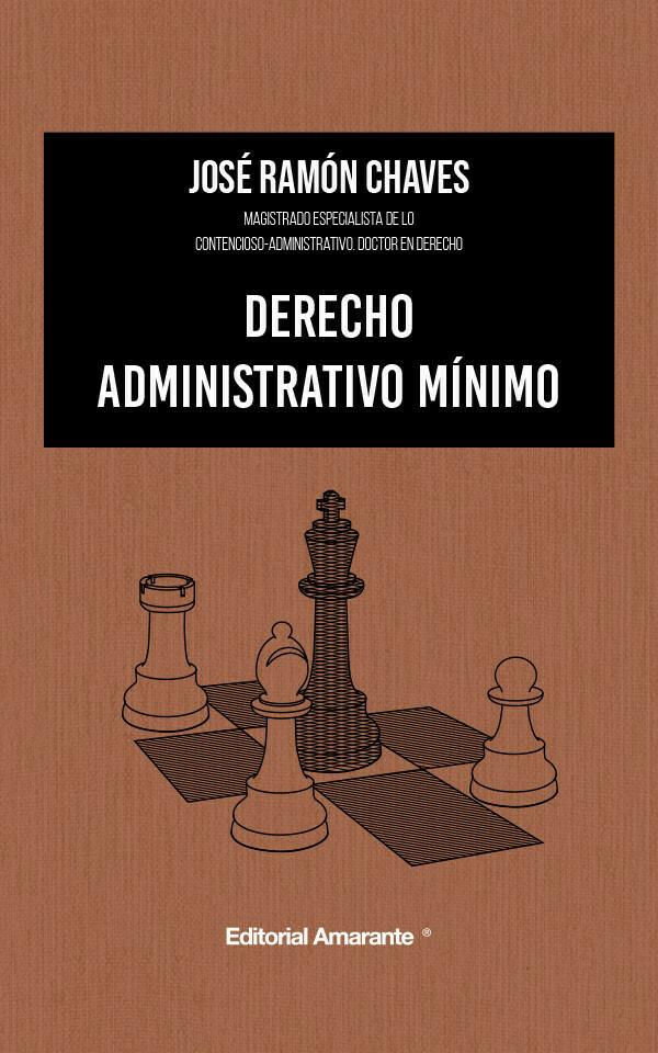 Derecho administrativo mínimo
