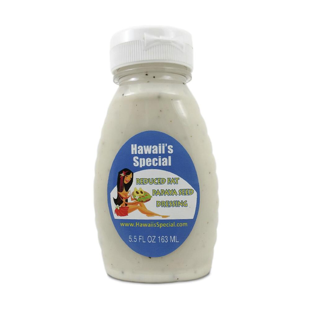 Reduced Fat Papaya Seed Dressing, 5.5 oz