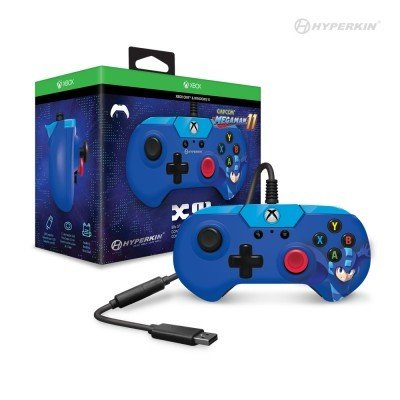 X91 Wired Controller for Xbox One/ Windows 10 PC (Mega Man 11 Limited Edition) - Hyperkin - Officially Licensed by Capcom and Xbox