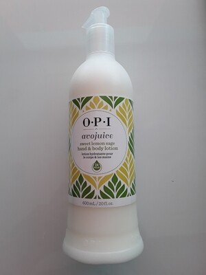Crème mains Avojuice sweet lemon 600ml