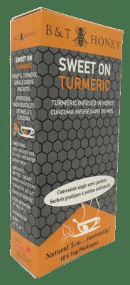 Sweet On Turmeric Honey Shots