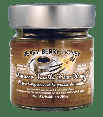 Espresso Vanilla Bean Honey (300 g)