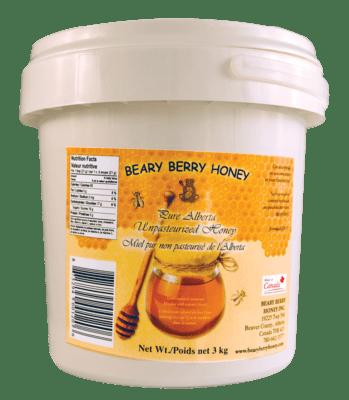 3 kg Pure Alberta Liquid Honey - Plain