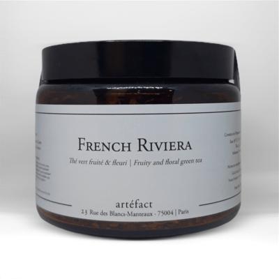 French Riviera [Thé vert fruité & fleuri] : Amber Jar 100g