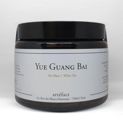 Yue Guang Bai [Thé blanc] : Amber Jar 40g