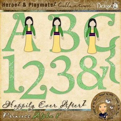 Happily Ever AfterZ: Princess Alpha 8