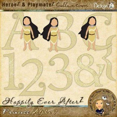 Happily Ever AfterZ: Princess Alpha 7