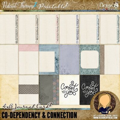 Co-Dependency & Connection   Journal CardZ
