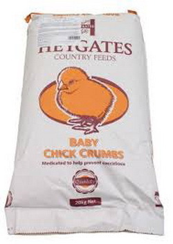 Haygates Feeds Baby Chick Crumb per 1 kg.