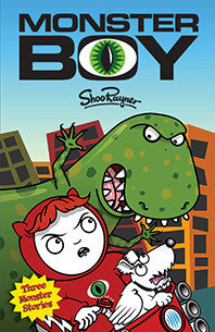 Monster Boy - Signed book and Free Poster!