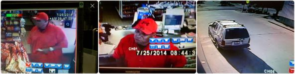 Suspect and Vehicle Chevron Robbery