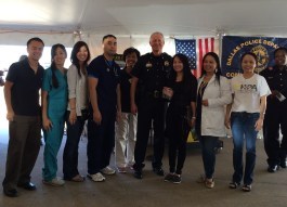 The North East Patrol Division Chief Acord & the Vietnamese Health Profession Association
