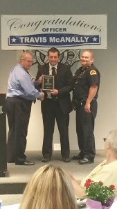 Officer of the month