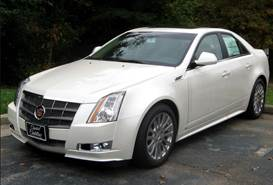 2002 Cadillac CTS (Not Actual Vehicle)