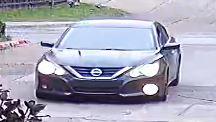 suspect vehicle front