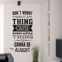 Dont Worry About a Thing Bob Marley Song Lyrics Quote