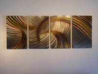 Tempest Bronze - Abstract Metal Wall Art Contemporary ...