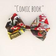 comic book hair bow storenvy