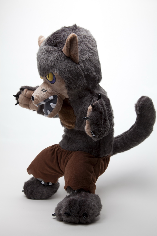 Wolfman Puck Werewolf Plush On Storenvy