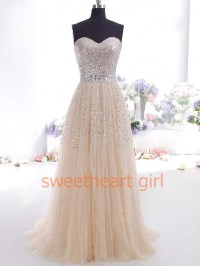 Sweetheart Girl | Gorgeous A-line Sweetheart Tulle Prom ...