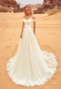 Ivory Wedding Dress,Lace Wedding Dresses,Off Shoulder ...