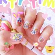 cute sailor moon nail stickers